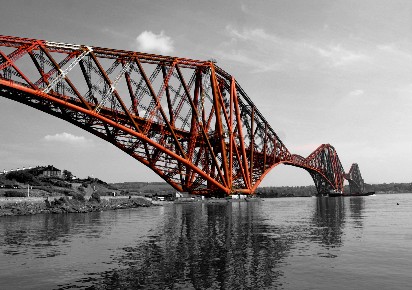 Nice Images Collection: Forth Bridge Desktop Wallpapers