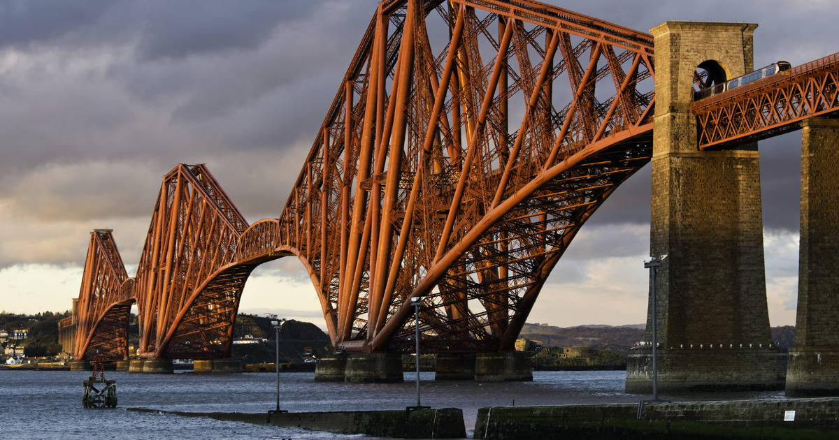 HD Quality Wallpaper | Collection: Man Made, 1200x630 Forth Bridge