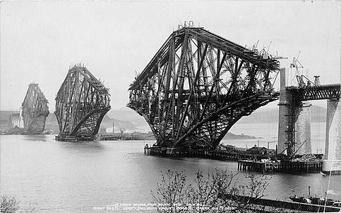 HD Quality Wallpaper | Collection: Man Made, 483x303 Forth Bridge