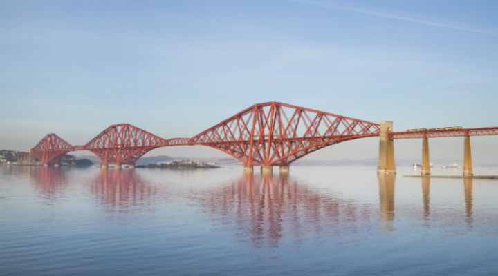 HD Quality Wallpaper | Collection: Man Made, 720x400 Forth Bridge