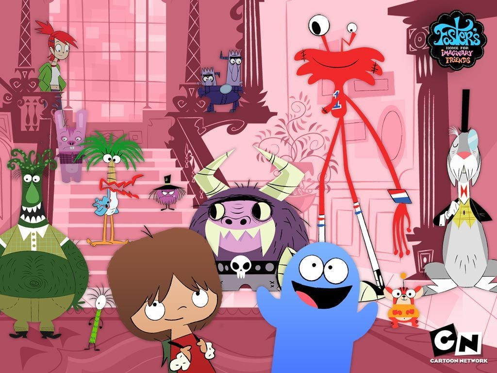 Images of Fosters Home For Imaginary Friends   1024x768