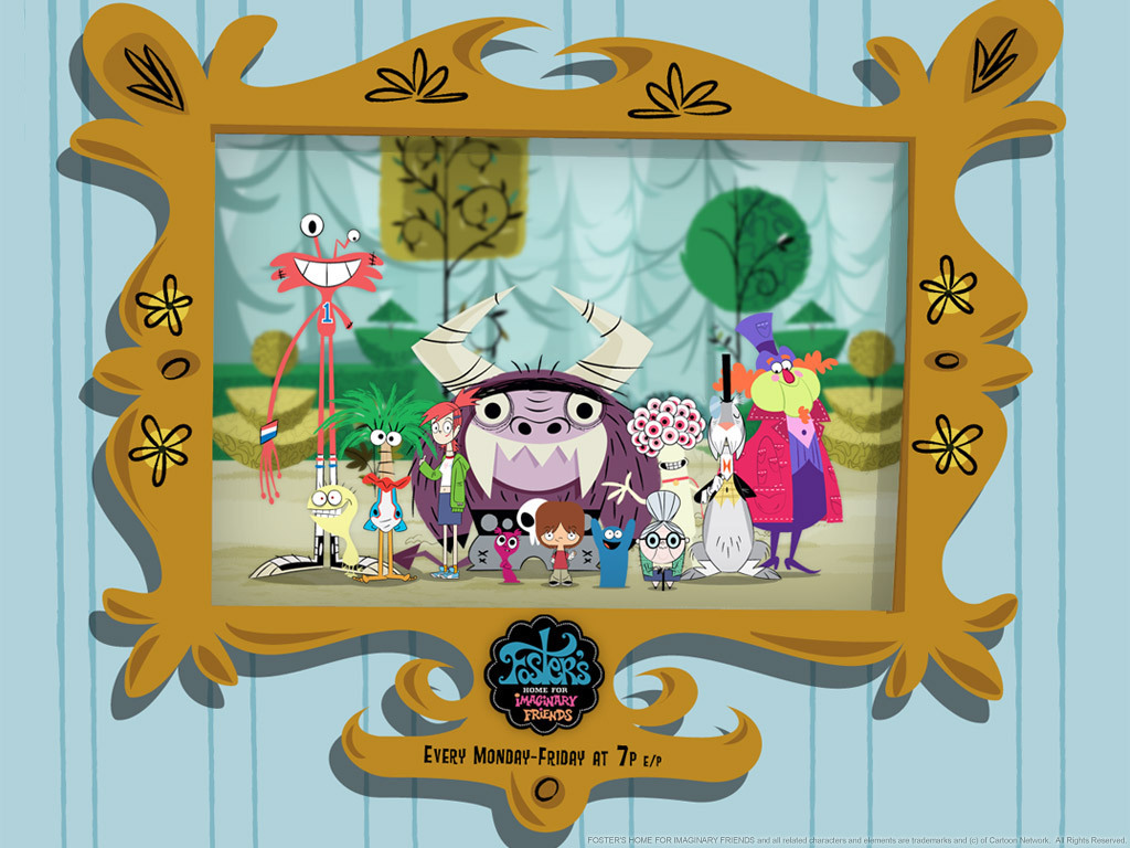 1024x768 > Fosters Home For Imaginary Friends Wallpapers