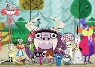 HD Quality Wallpaper   Collection: Cartoon, 320x225 Fosters Home For Imaginary Friends