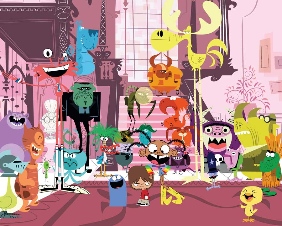 Fosters Home For Imaginary Friends Backgrounds on Wallpapers Vista