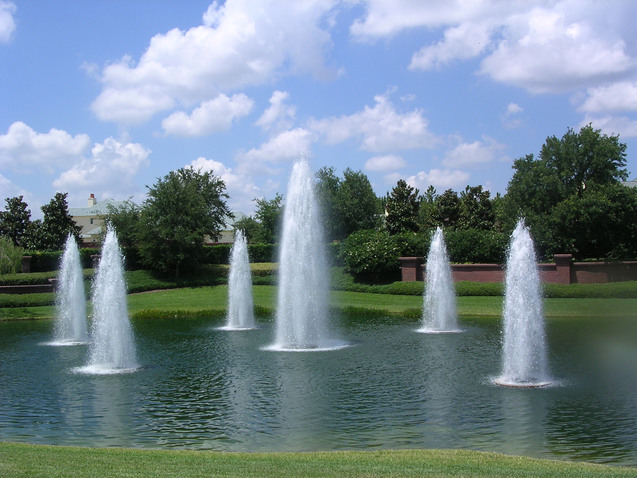 Fountain Pics, Man Made Collection