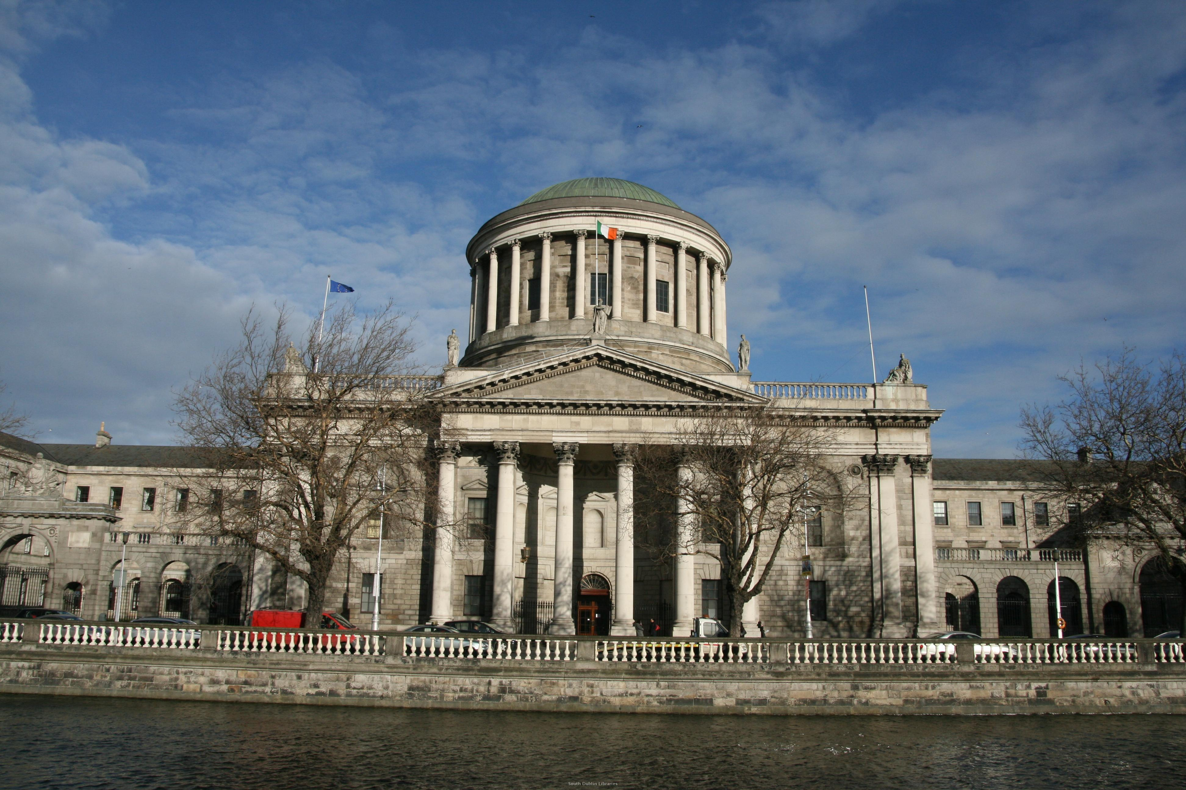 Nice wallpapers Four Courts 3888x2592px
