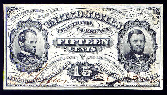 Images of Fractional Currency | 560x319