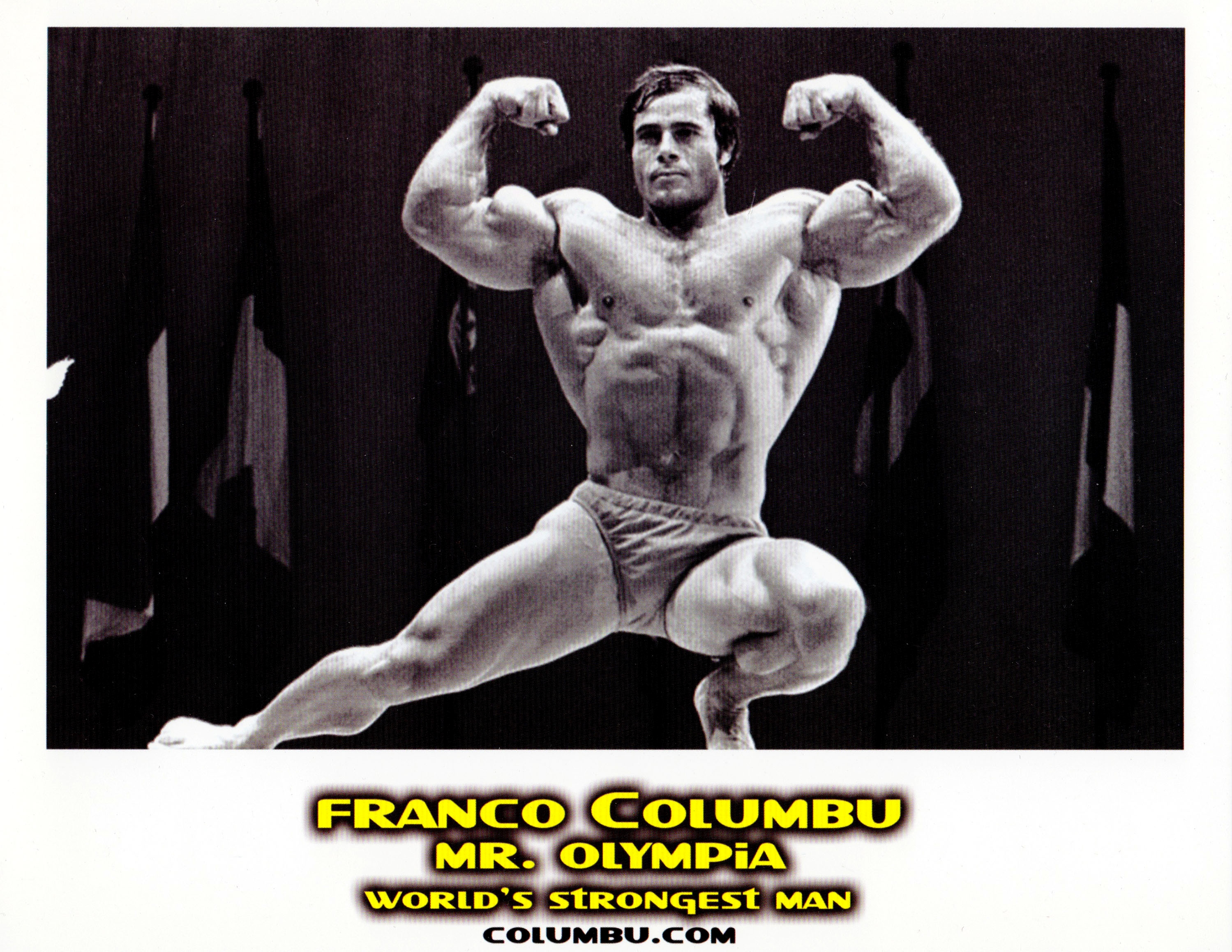 Nice Images Collection: Franco Columbu Desktop Wallpapers