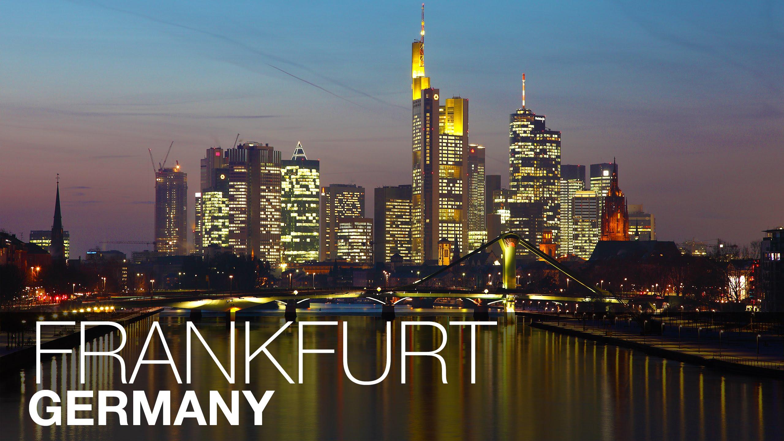 Nice wallpapers Frankfurt 2560x1440px