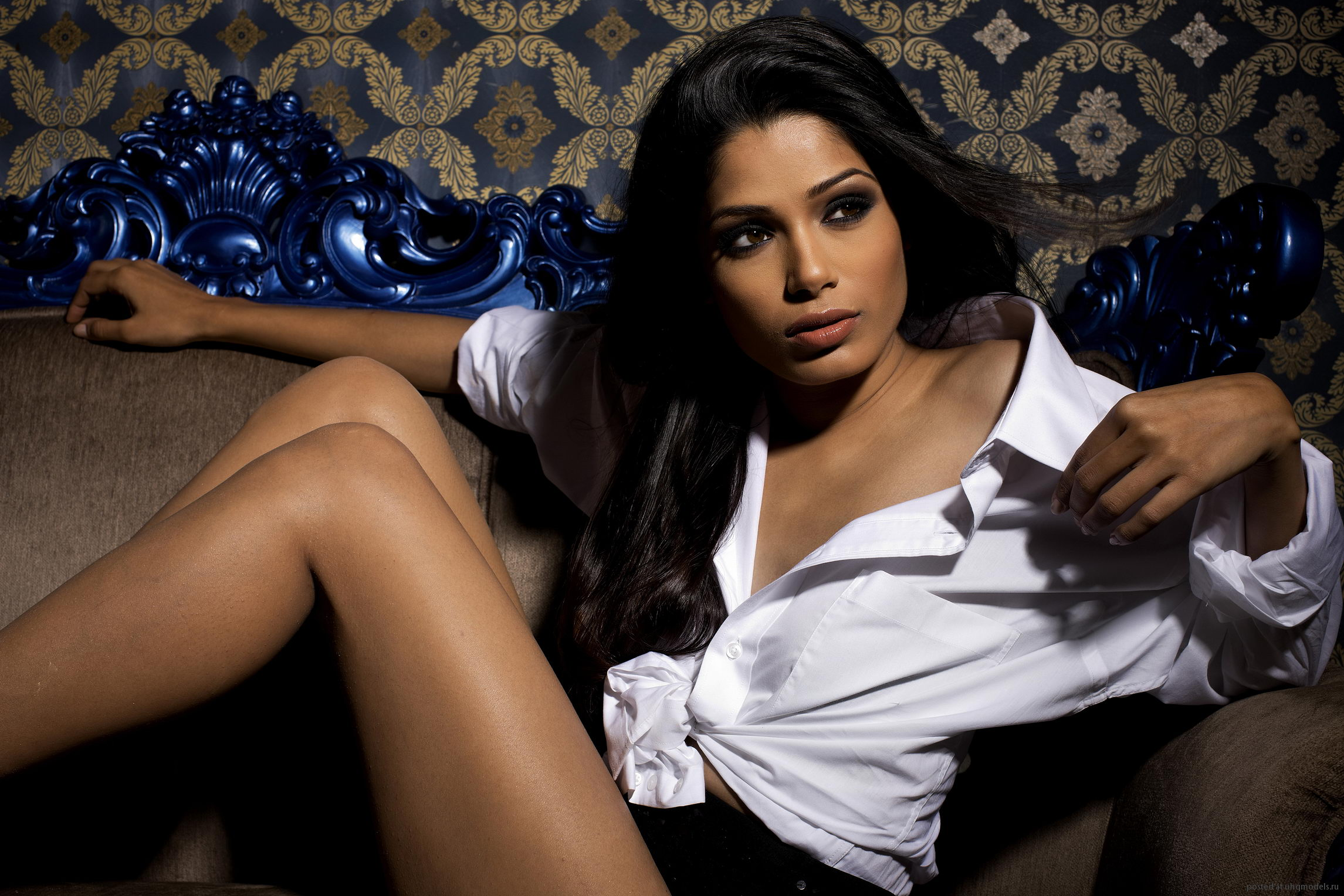 Nice Images Collection: Freida Pinto Desktop Wallpapers