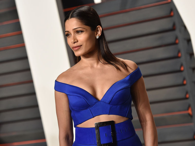 Freida Pinto Backgrounds, Compatible - PC, Mobile, Gadgets| 768x573 px