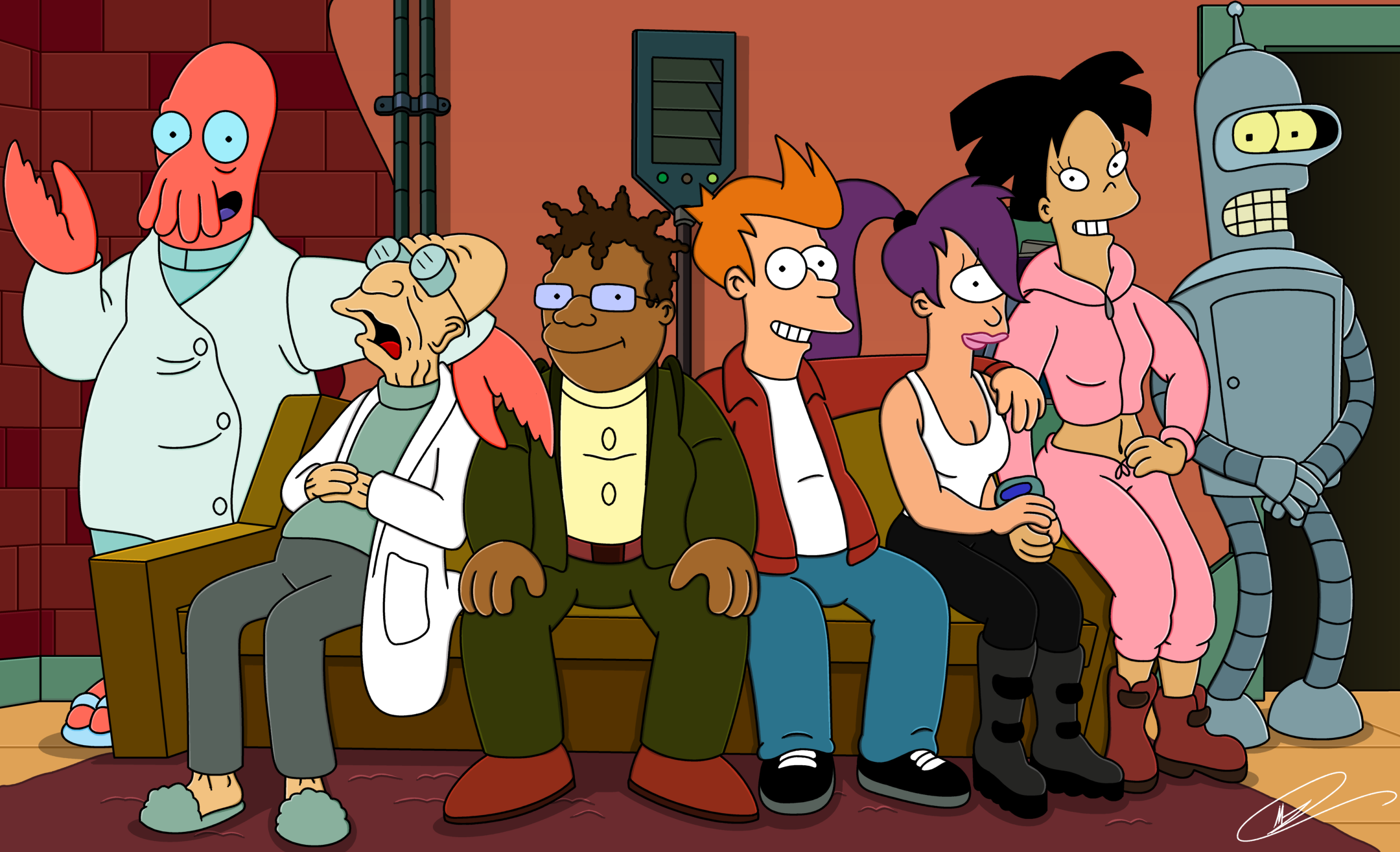 Futurama High Quality Background on Wallpapers Vista