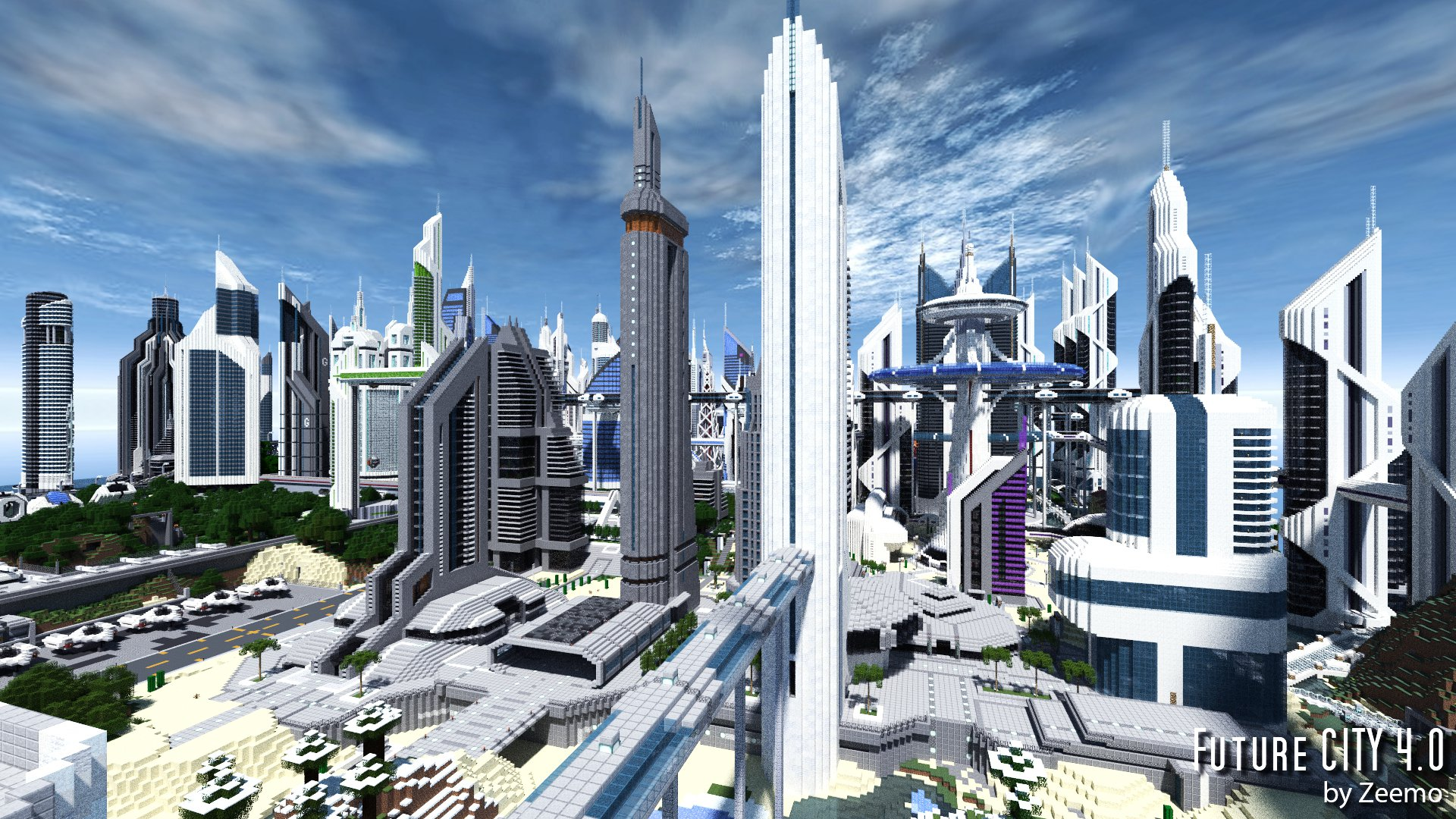 Amazing Future City Pictures & Backgrounds