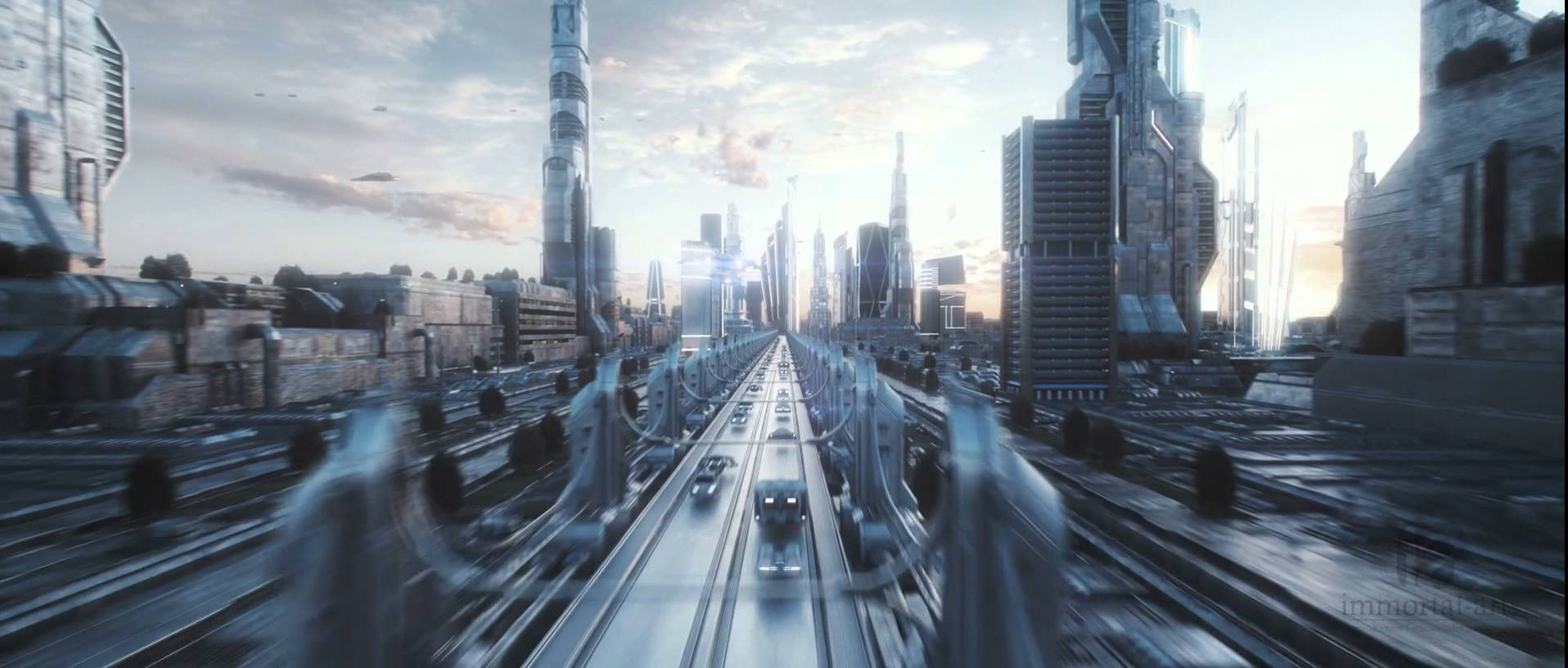 Nice wallpapers Future City 1916x816px