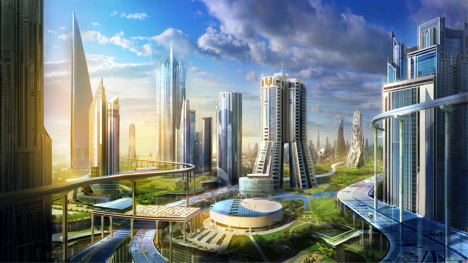 Nice wallpapers Future City 1920x1080px