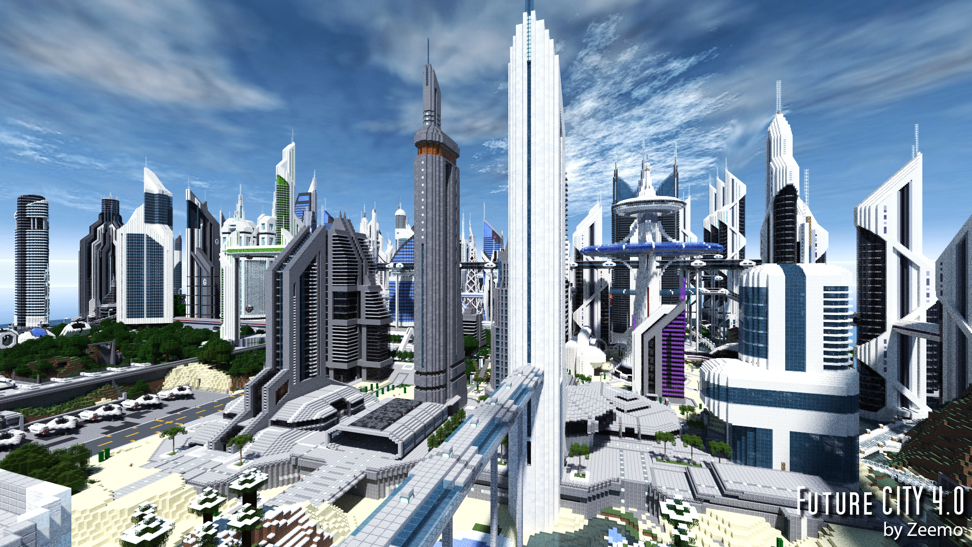 Future City High Quality Background on Wallpapers Vista
