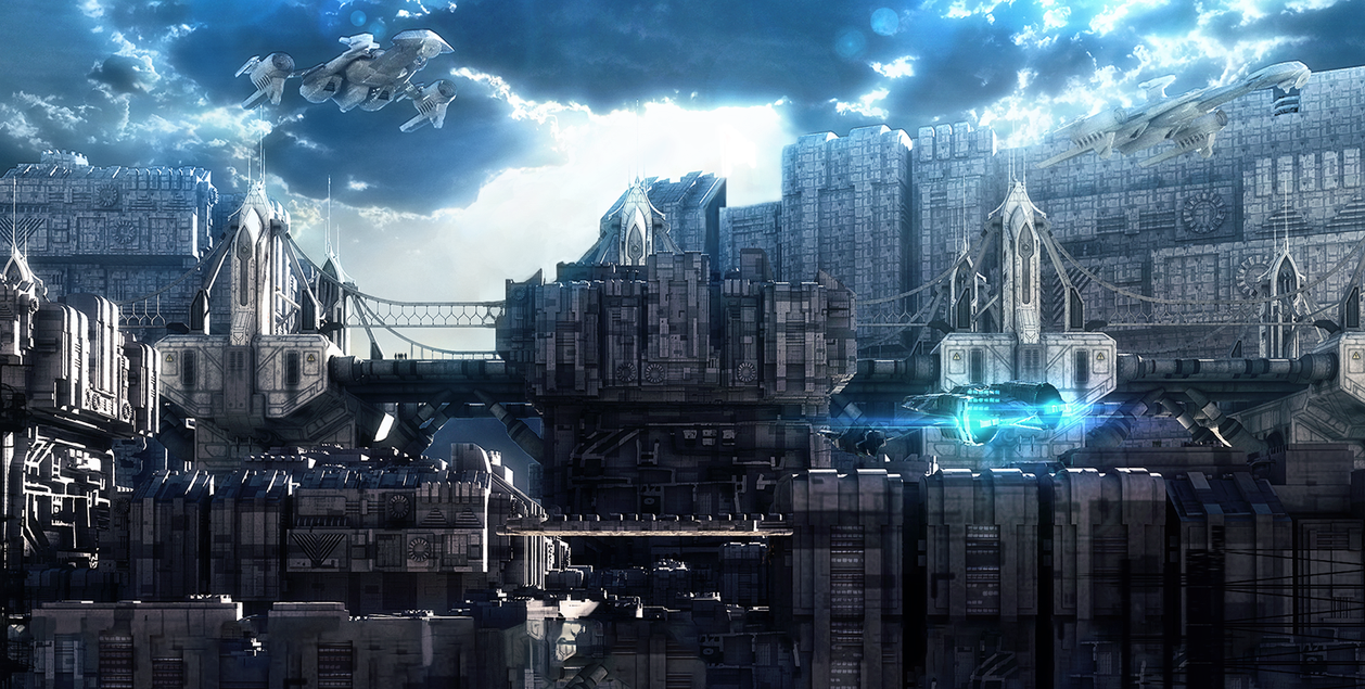 Nice wallpapers Future City 1258x635px