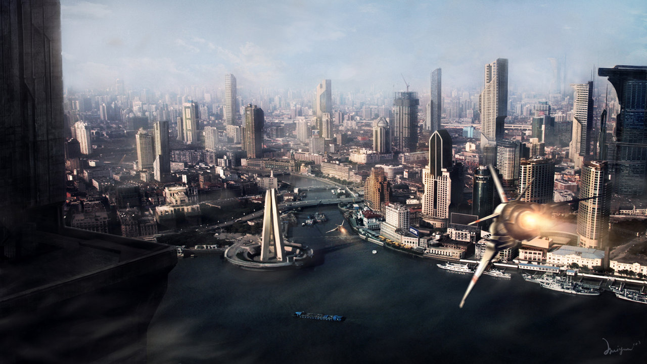 Nice Images Collection: Future City Desktop Wallpapers