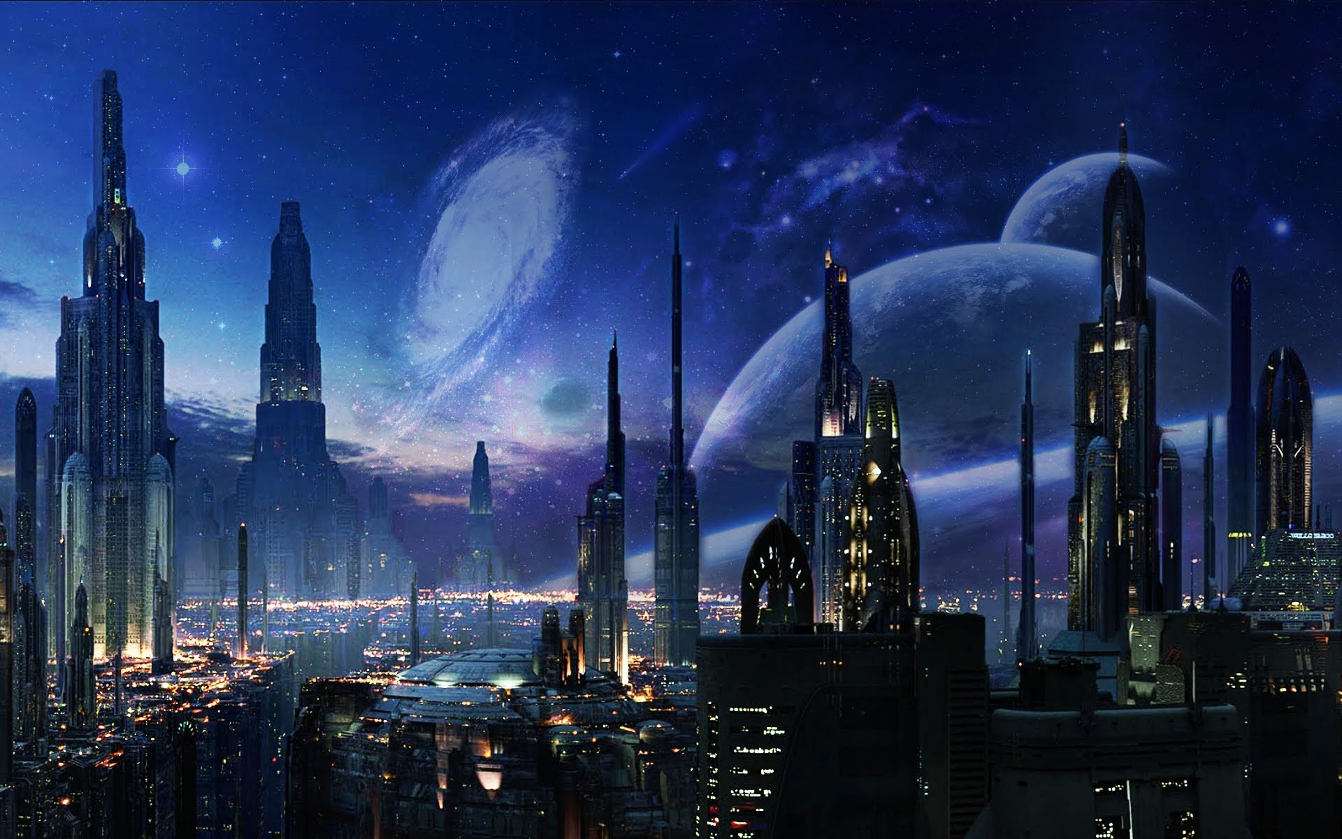 HQ Future City Wallpapers | File 312.08Kb