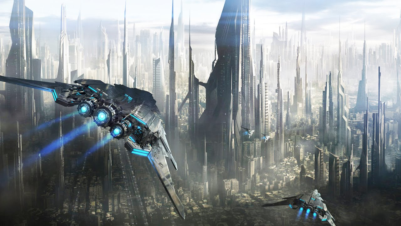 Future City Backgrounds on Wallpapers Vista