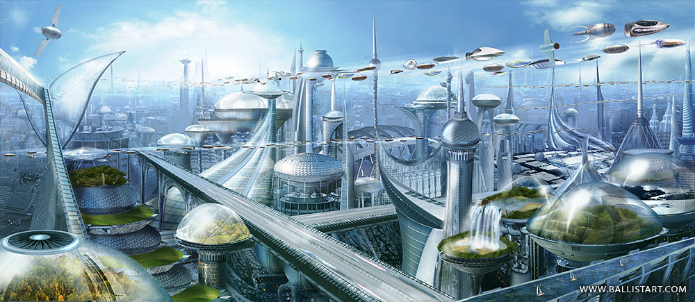 Future City Wallpapers Multi Monitor Hq Future City Pictures 4k Wallpapers 2019