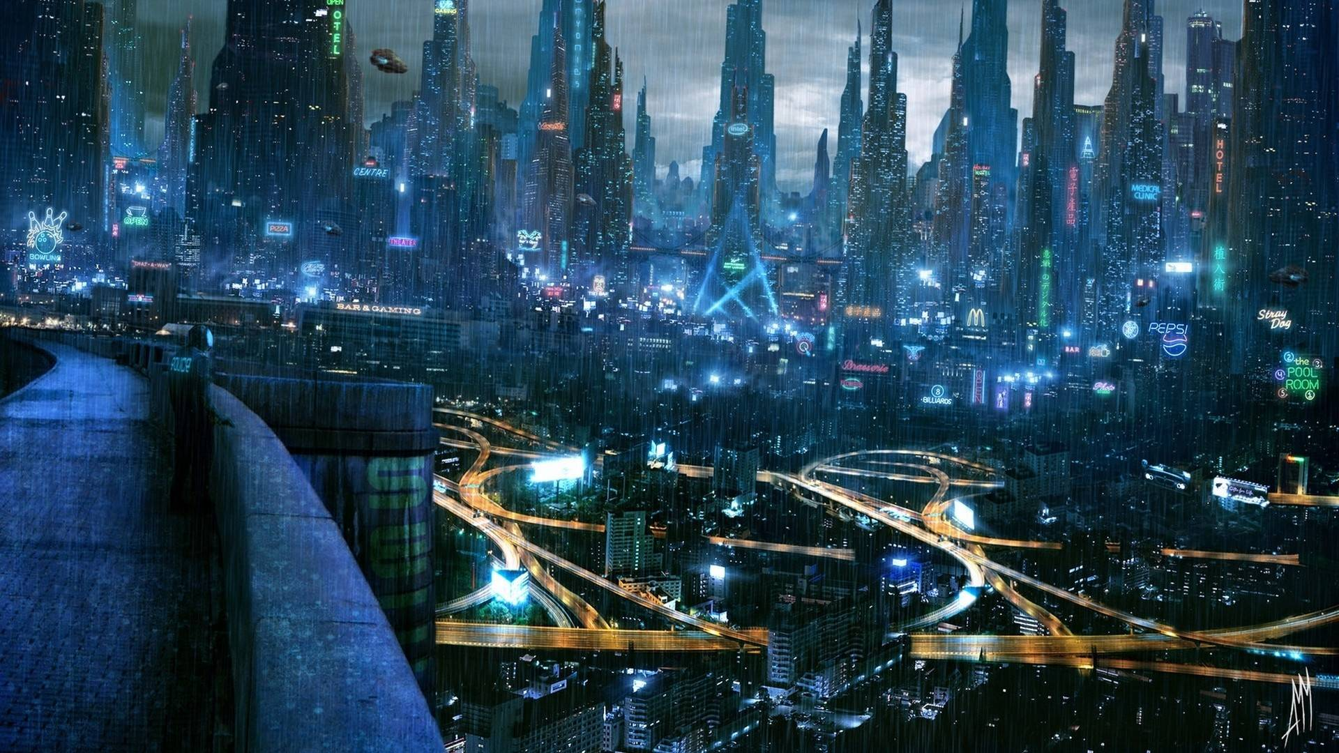Nice Images Collection: Futuristic Desktop Wallpapers