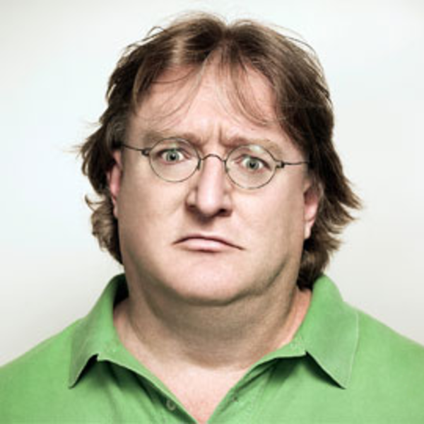 Nice Images Collection: Gabe Newell Desktop Wallpapers