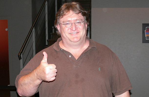 Gabe Newell High Quality Background on Wallpapers Vista