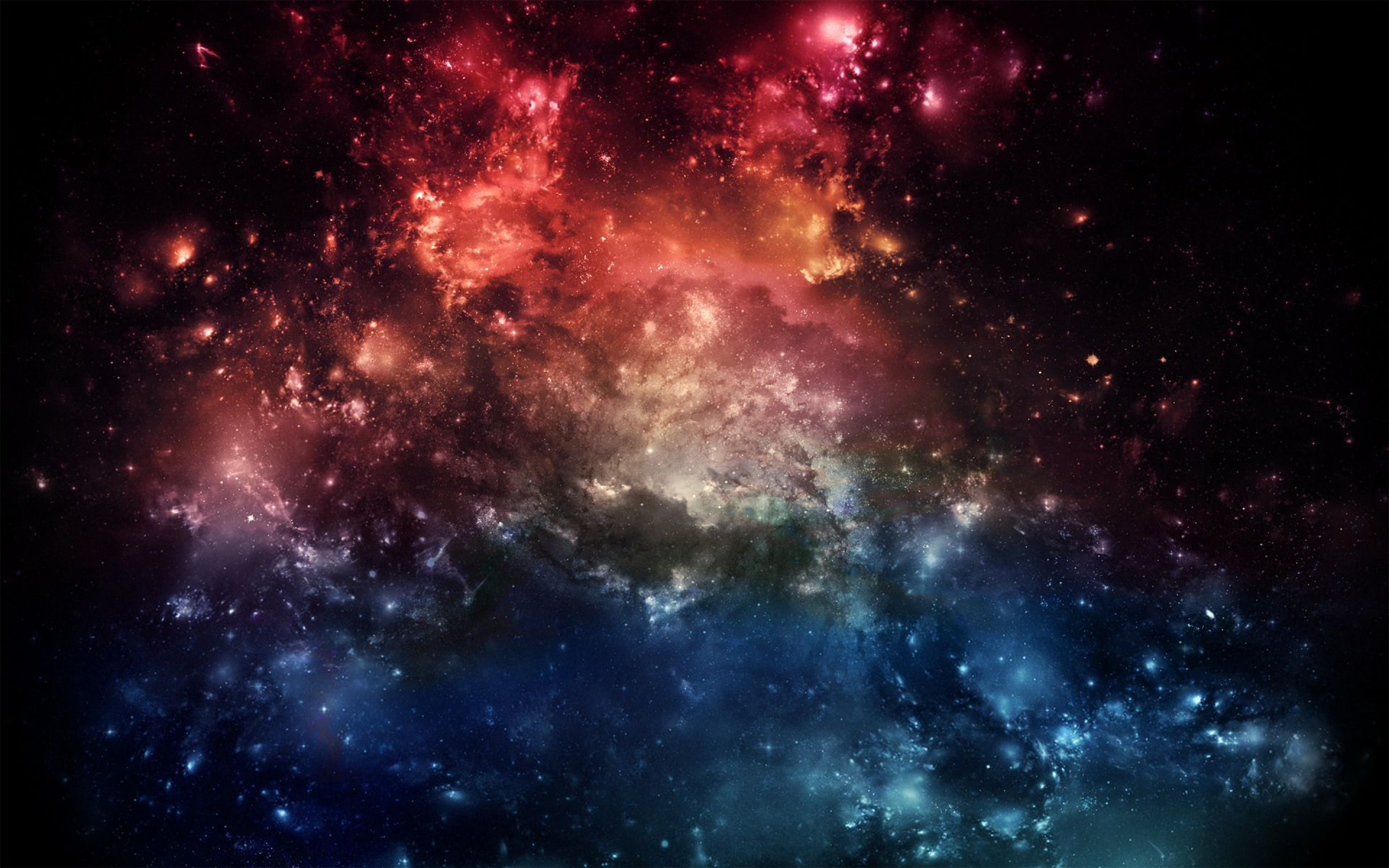 Galaxy Backgrounds, Compatible - PC, Mobile, Gadgets| 2880x1800 px