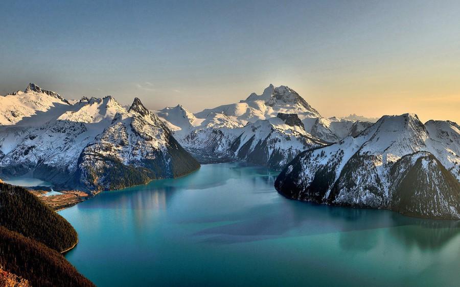 Nice Images Collection: Garibaldi Lake Desktop Wallpapers