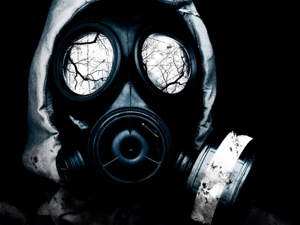 Nice wallpapers Gas Mask 1024x768px