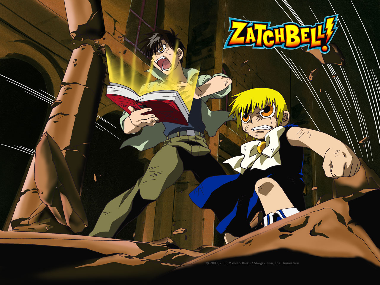 Zatch Bell High Quality Background on Wallpapers Vista