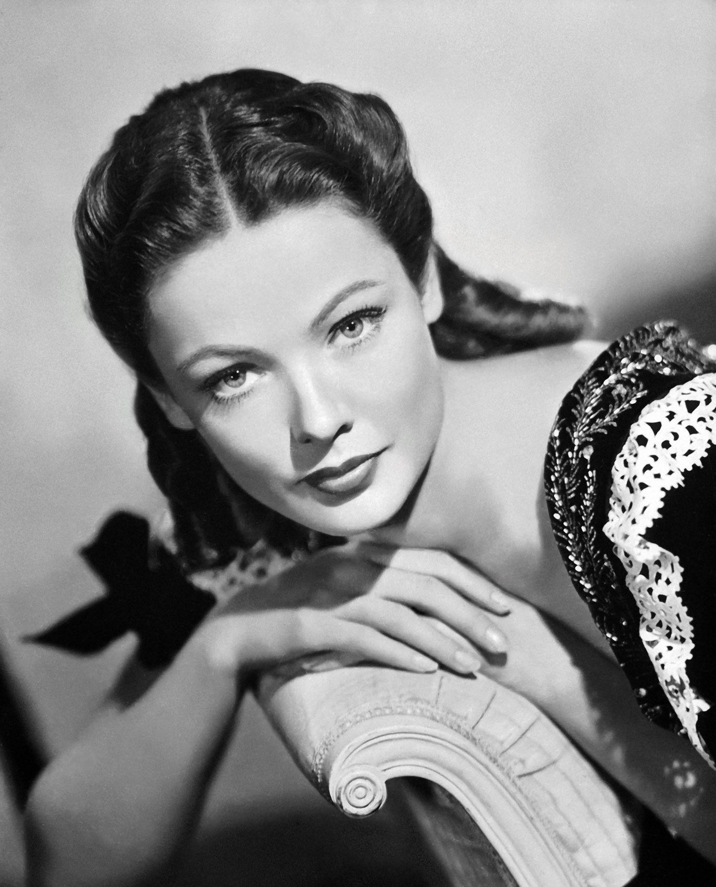 Nice Images Collection: Gene Tierney Desktop Wallpapers