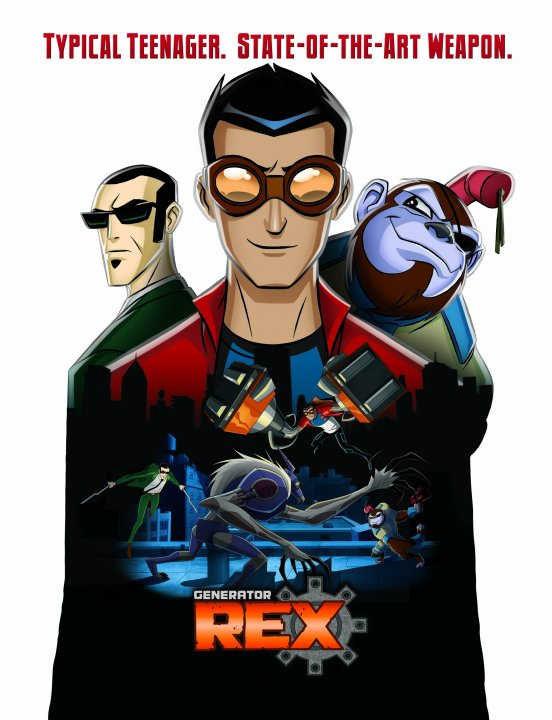 Images of Generator Rex | 552x720