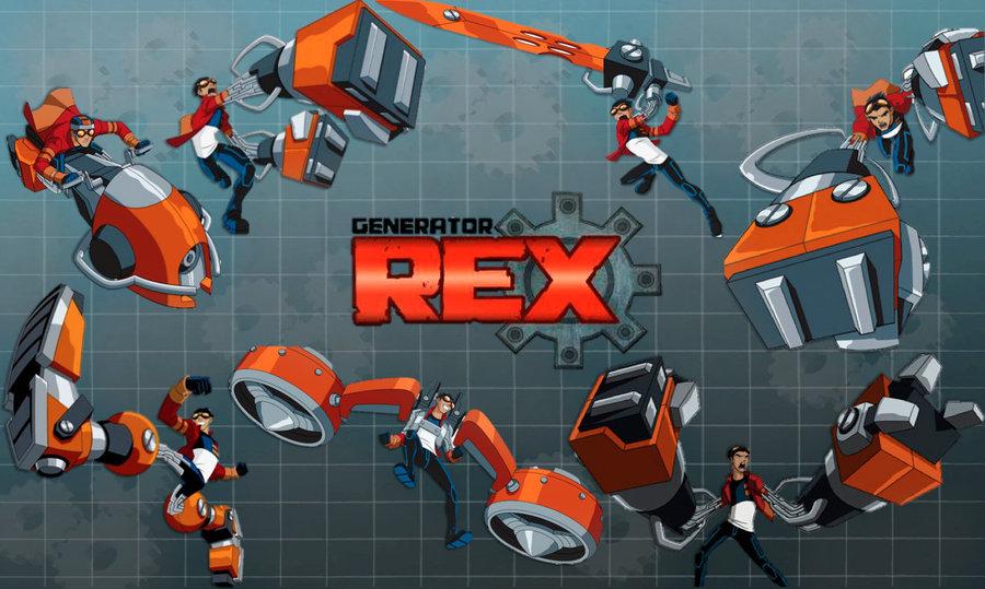 Images of Generator Rex | 900x539