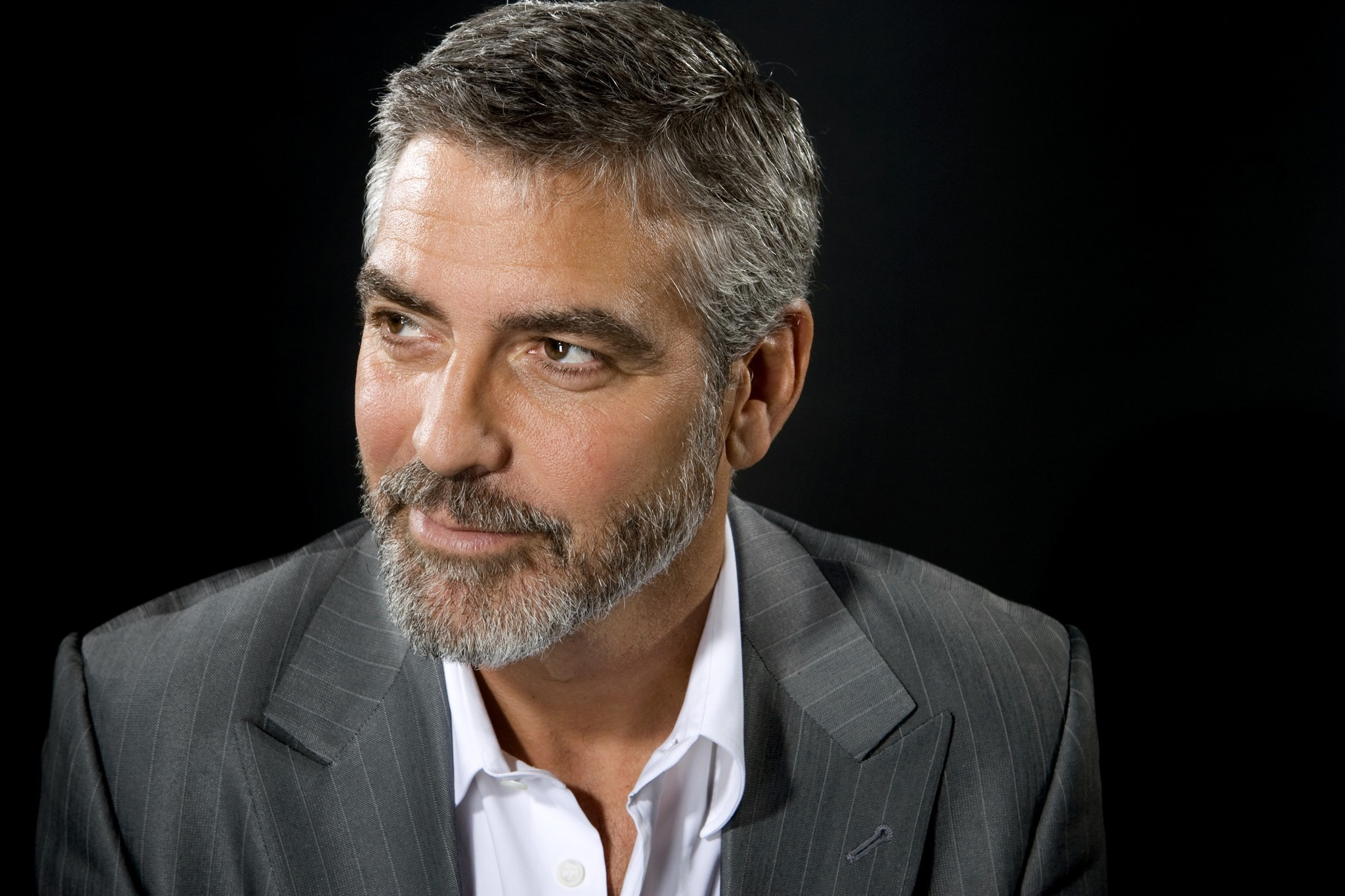 Nice Images Collection: George Clooney Desktop Wallpapers