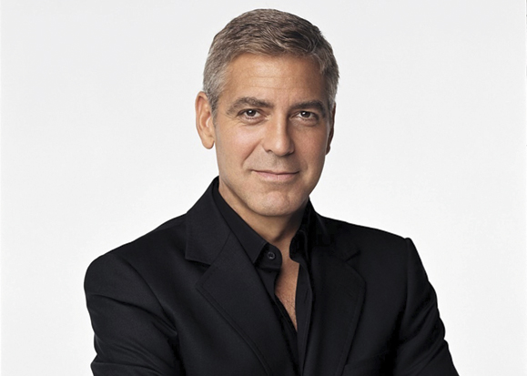HD Quality Wallpaper | Collection: Celebrity, 579x413 George Clooney