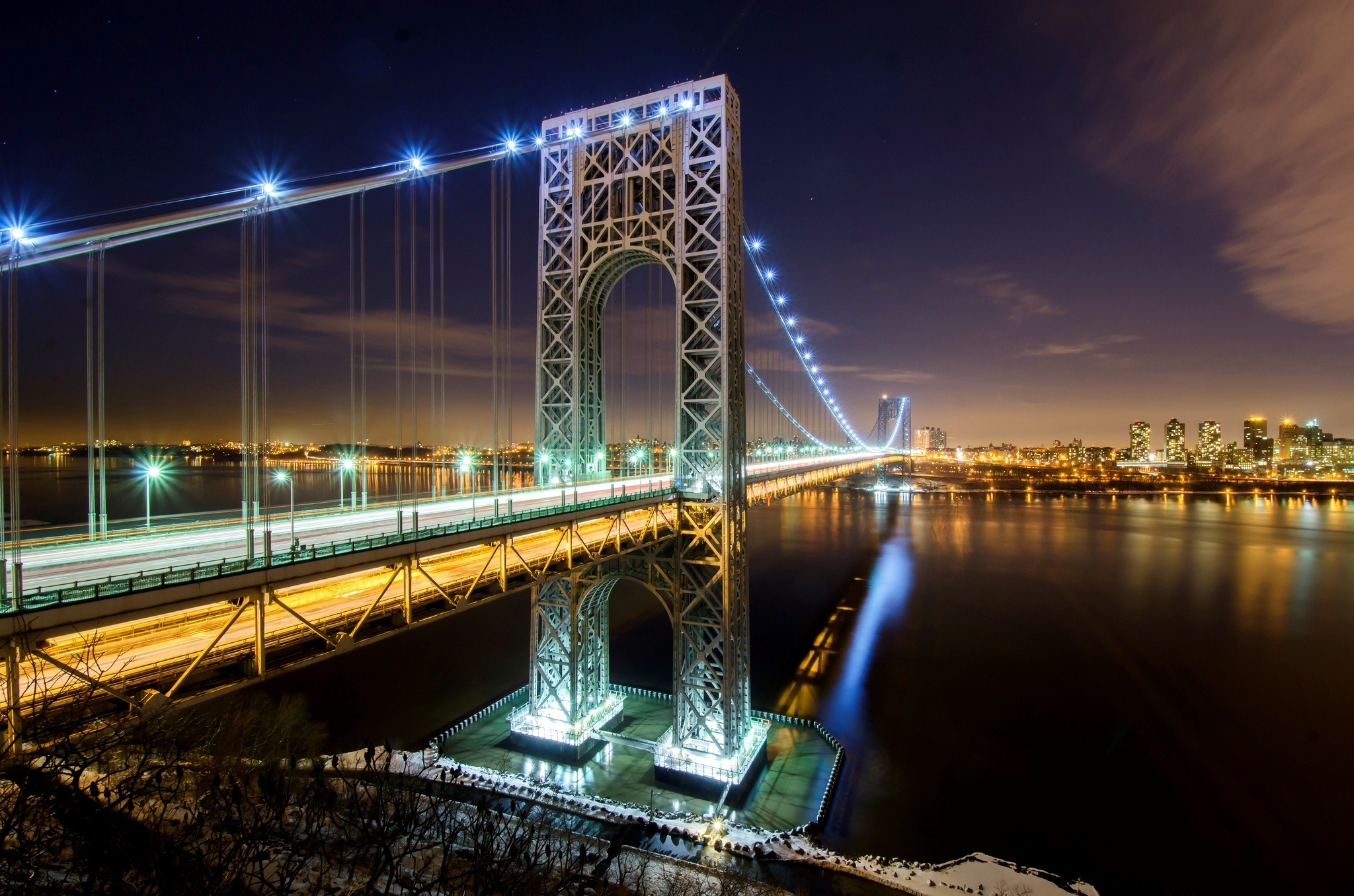 Nice wallpapers George Washington Bridge 2048x1356px