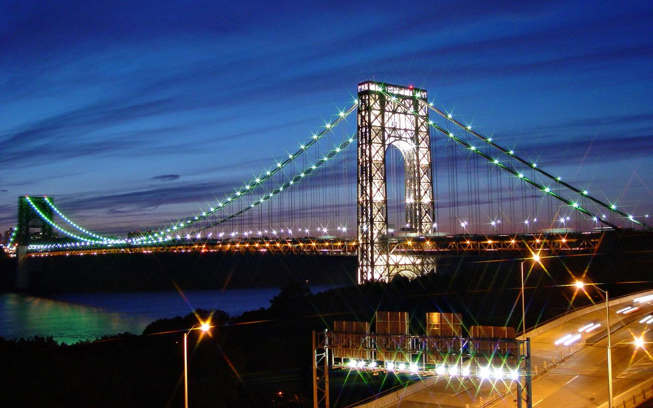 Nice wallpapers George Washington Bridge 1280x800px