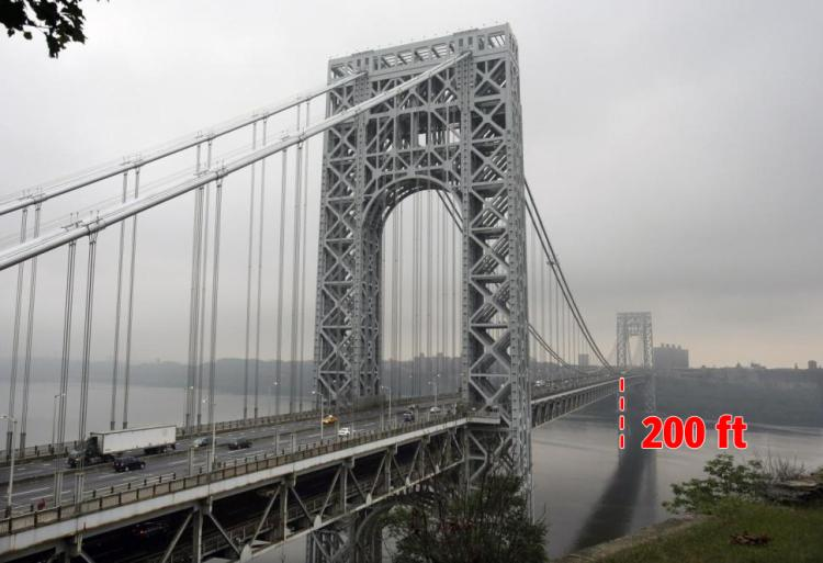 Nice Images Collection: George Washington Bridge Desktop Wallpapers