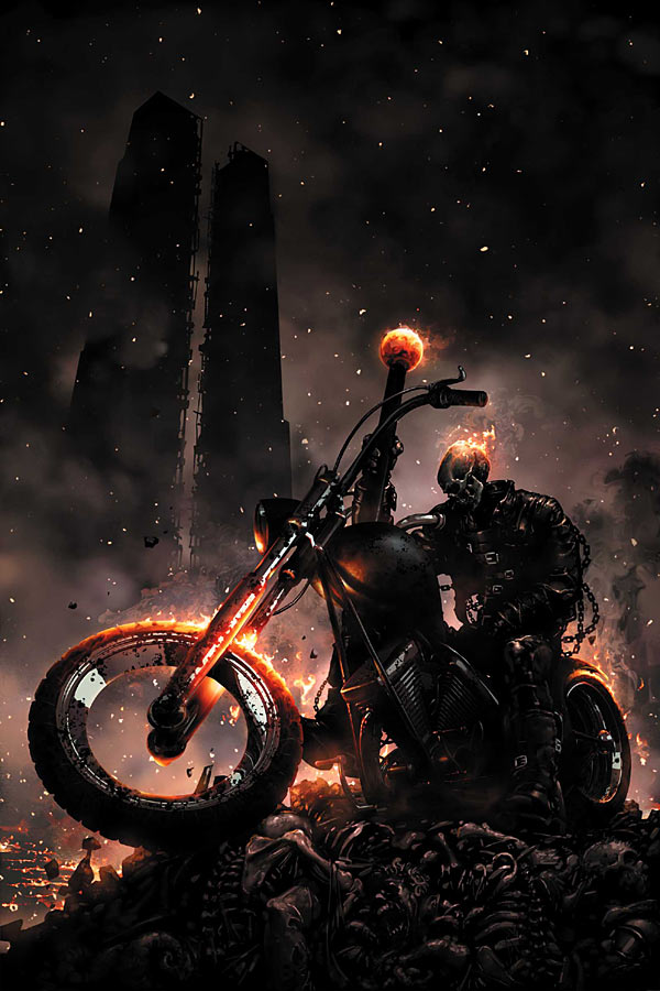 HD Quality Wallpaper | Collection: Video Game, 600x900 Hell Rider