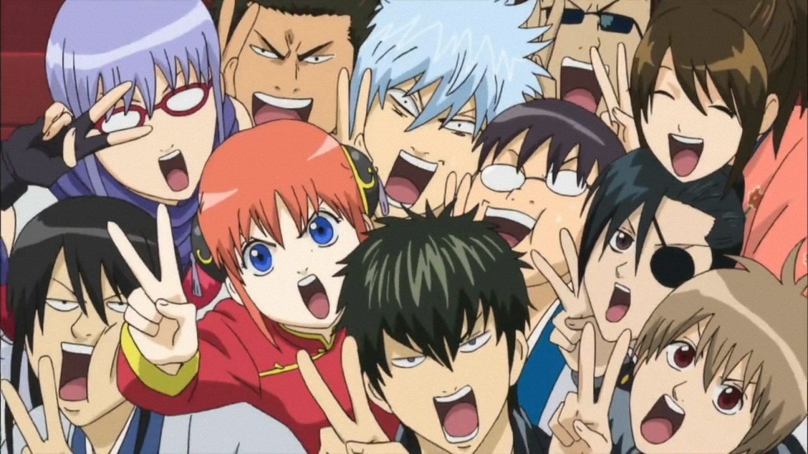 HD Quality Wallpaper | Collection: Anime, 1600x900 Gintama