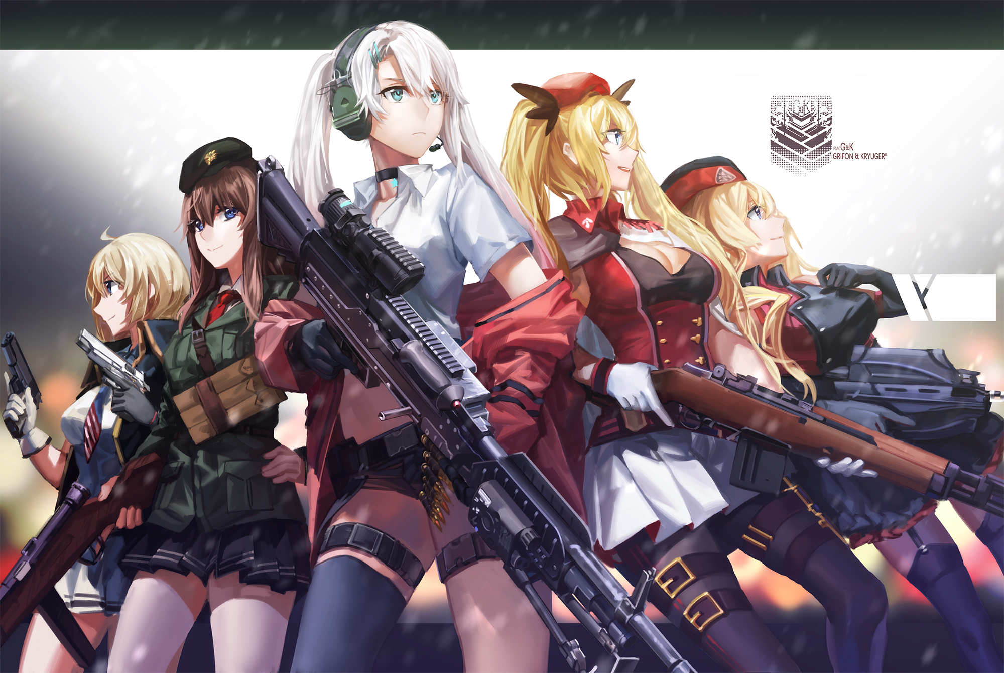 High Resolution Wallpaper | Girls Frontline 2000x1340 px