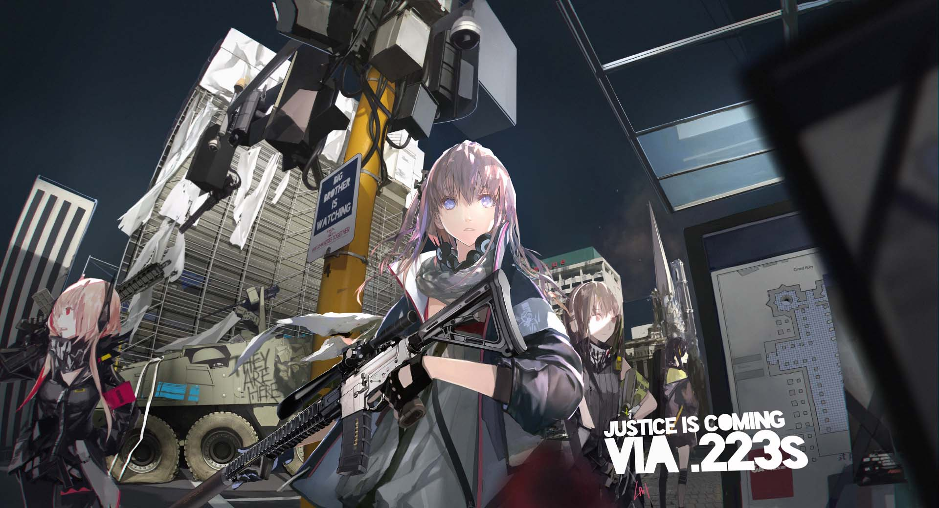 Nice wallpapers Girls Frontline 1920x1040px