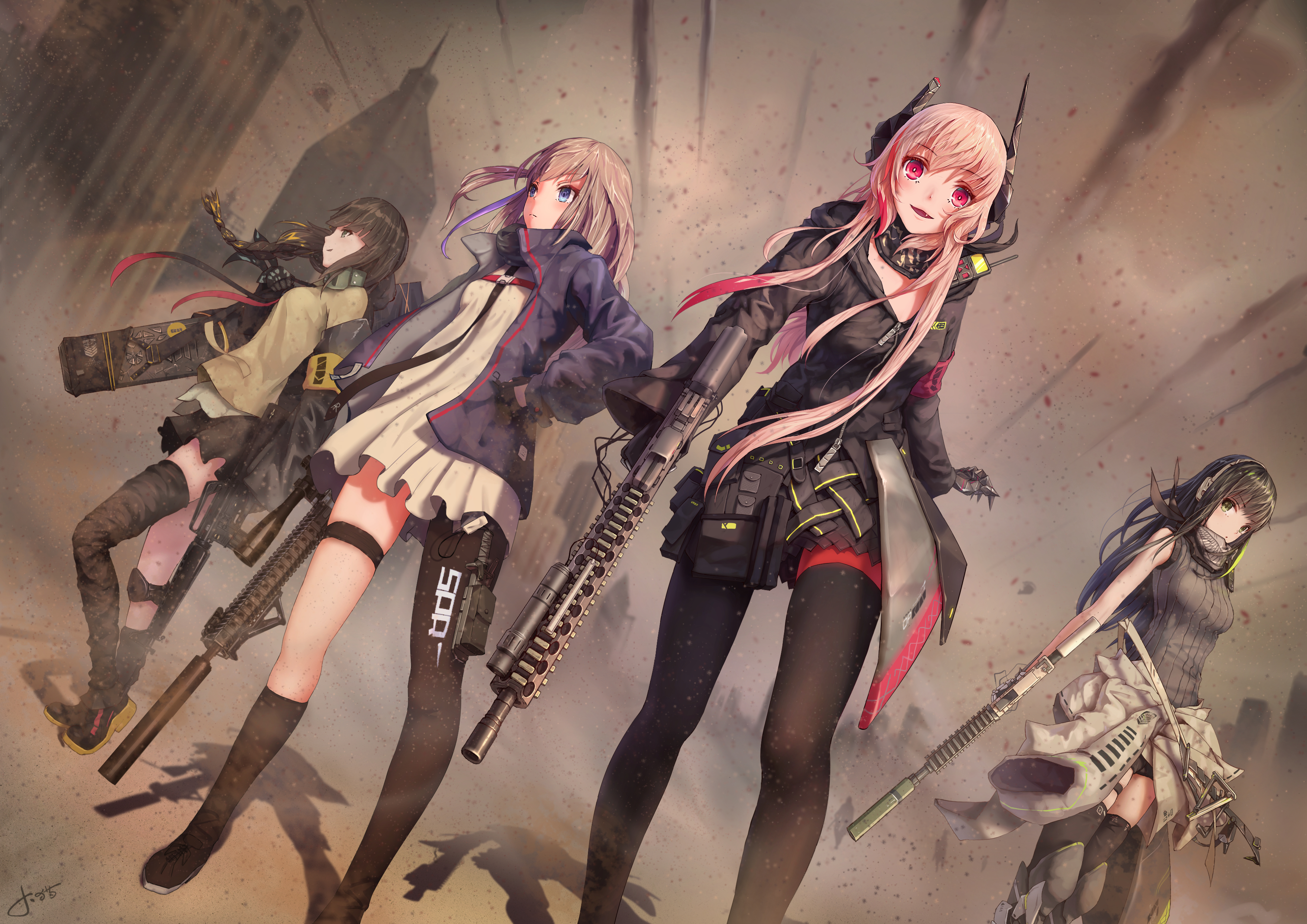 Girls Frontline Backgrounds on Wallpapers Vista