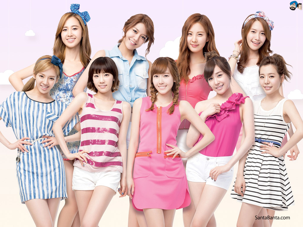 Nice wallpapers Girls Generation 1024x768px