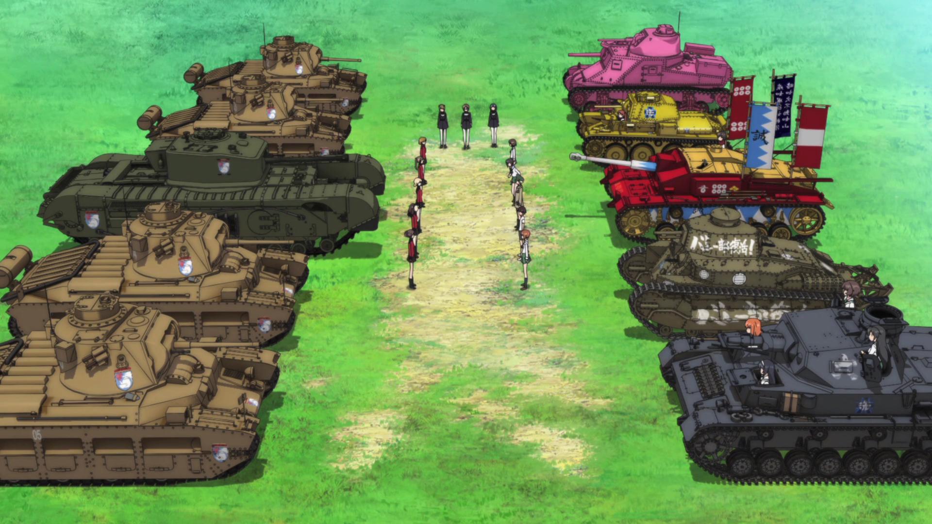 High Resolution Wallpaper | Girls Und Panzer 1920x1080 px