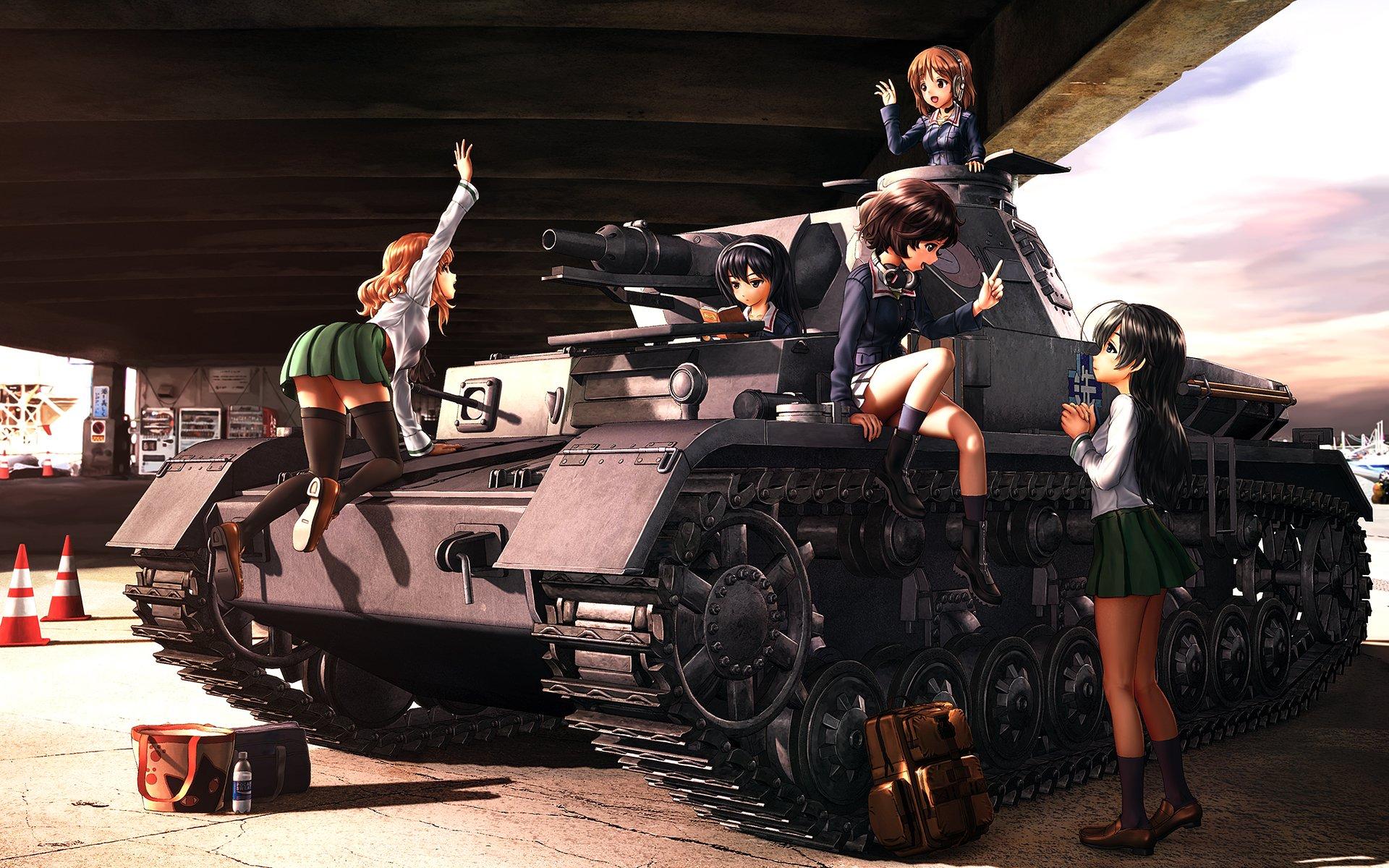 Images of Girls Und Panzer | 1920x1200