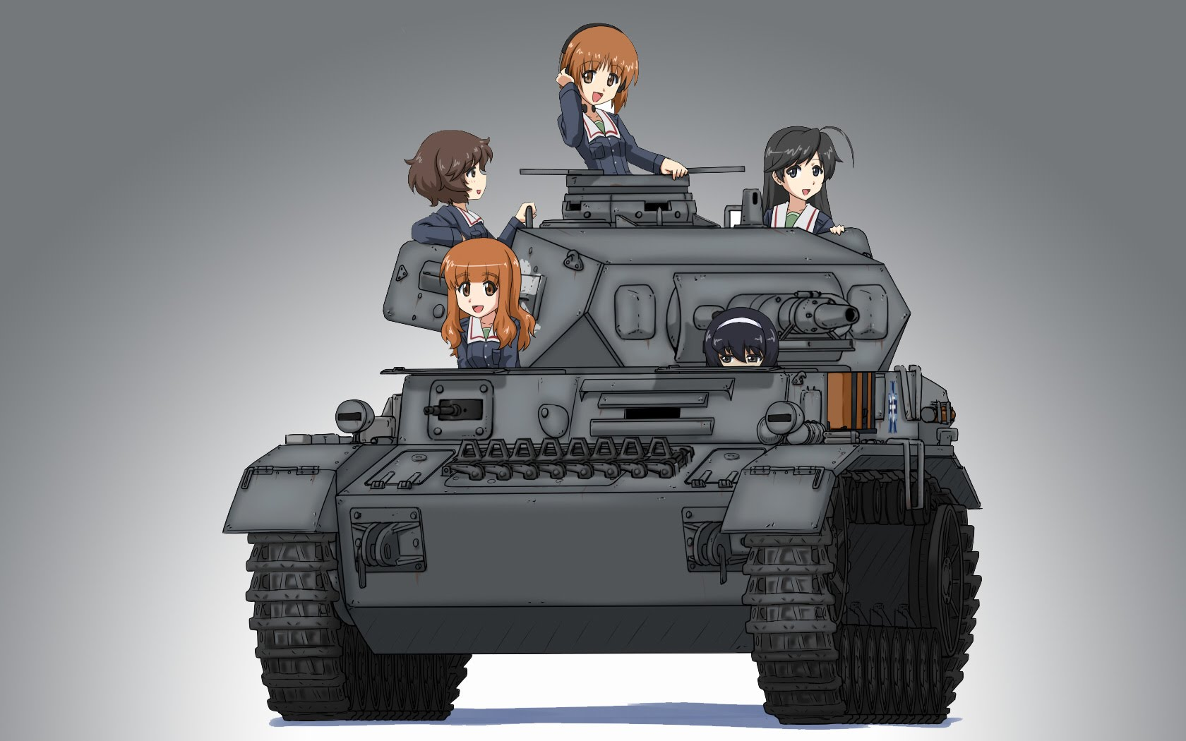 Nice Images Collection: Girls Und Panzer Desktop Wallpapers