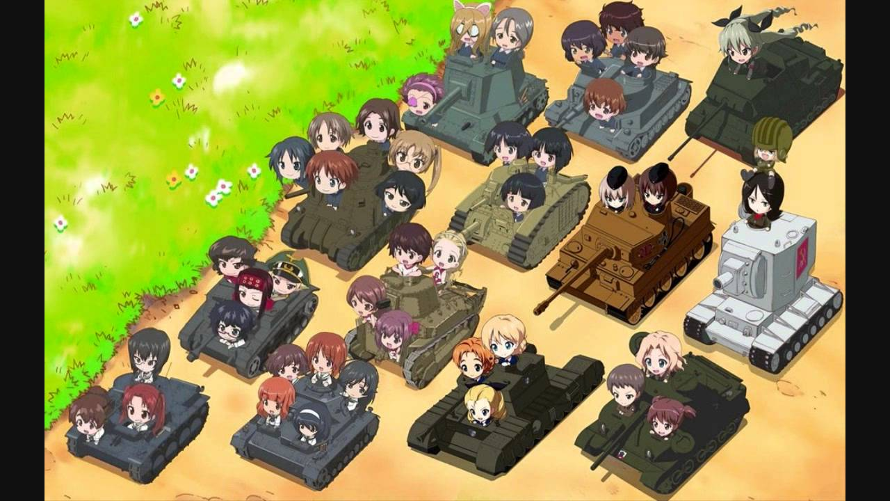 Girls Und Panzer Backgrounds on Wallpapers Vista